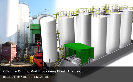 Offshore Drilling Mud Processing Plant, Aberdeen